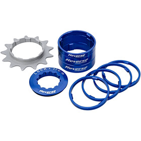 Reverse Single Speed Kit cassette blauw